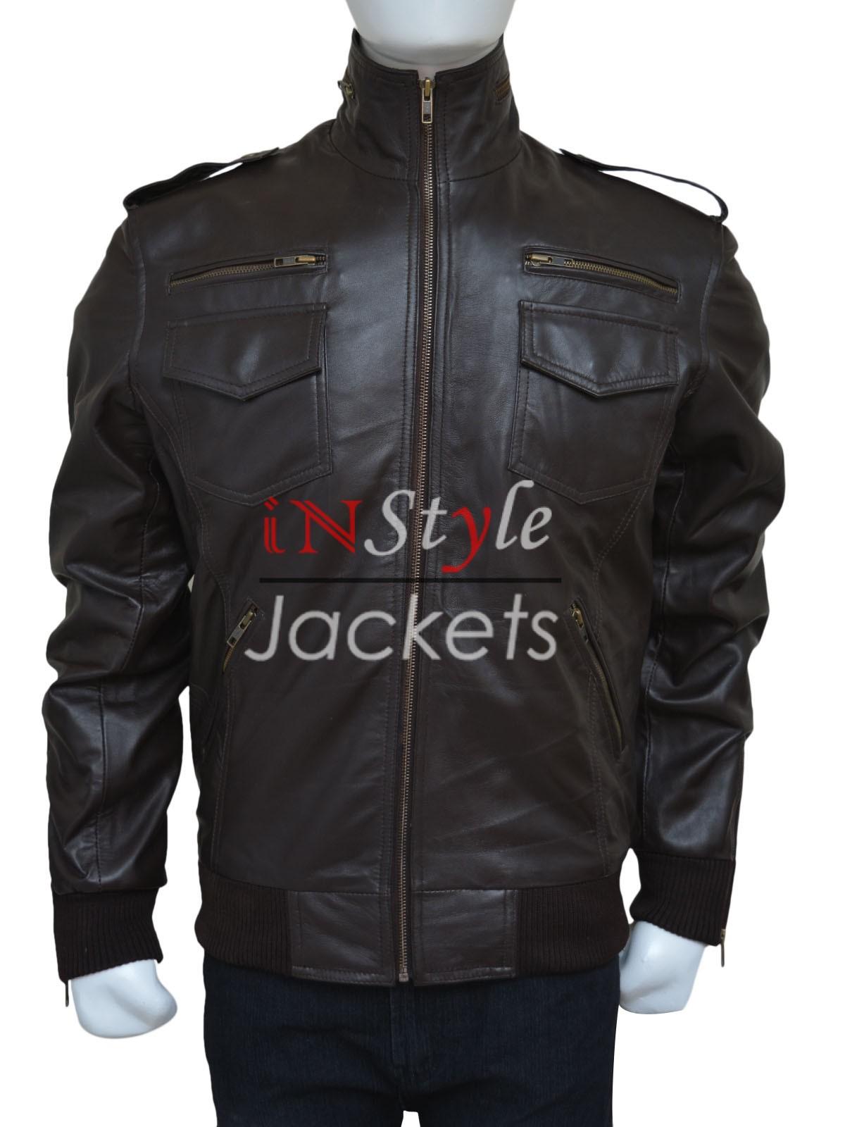 Brown Leather Brooklyn Nine Nine Jacket
