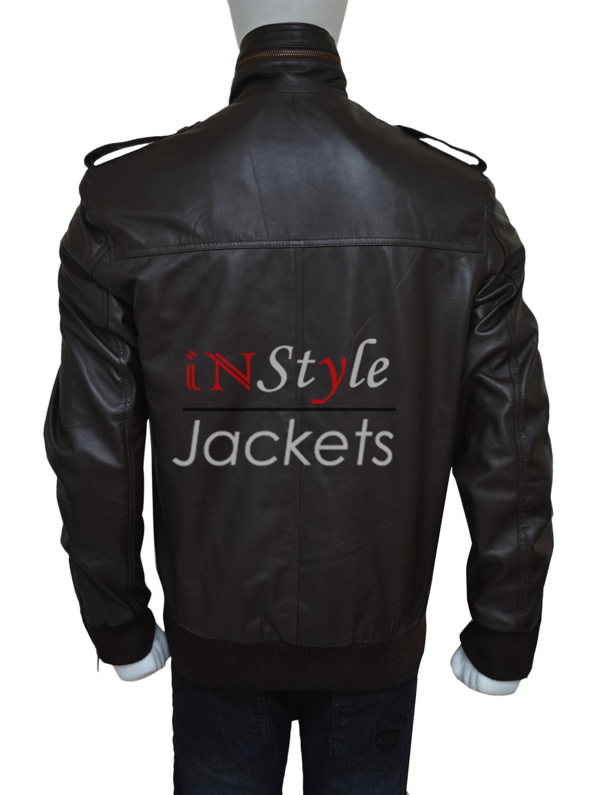 Brown Leather Brooklyn Nine Nine Leather Jacket