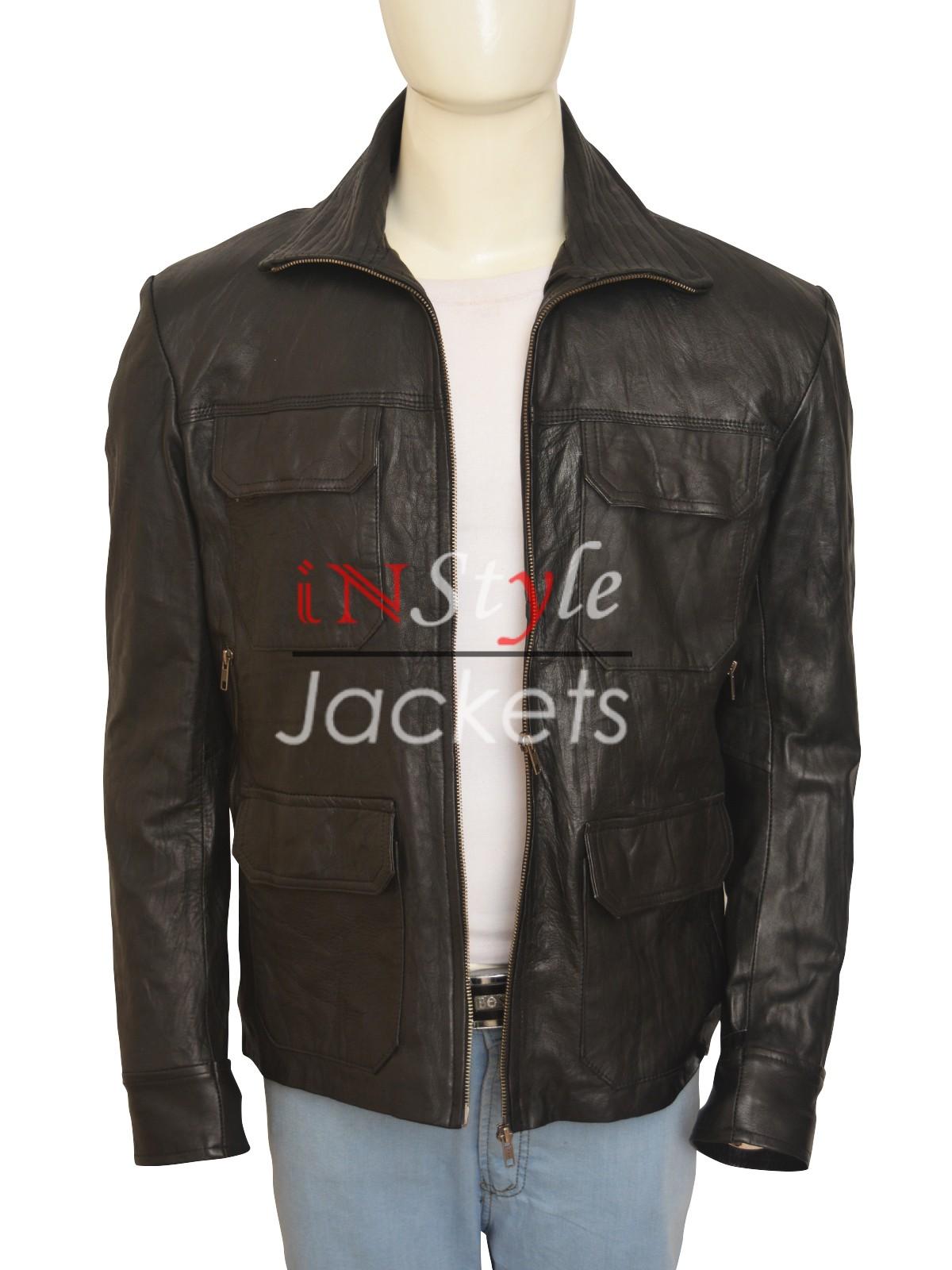 Aaron Paul Breaking Bad Jesse Leather Jacket