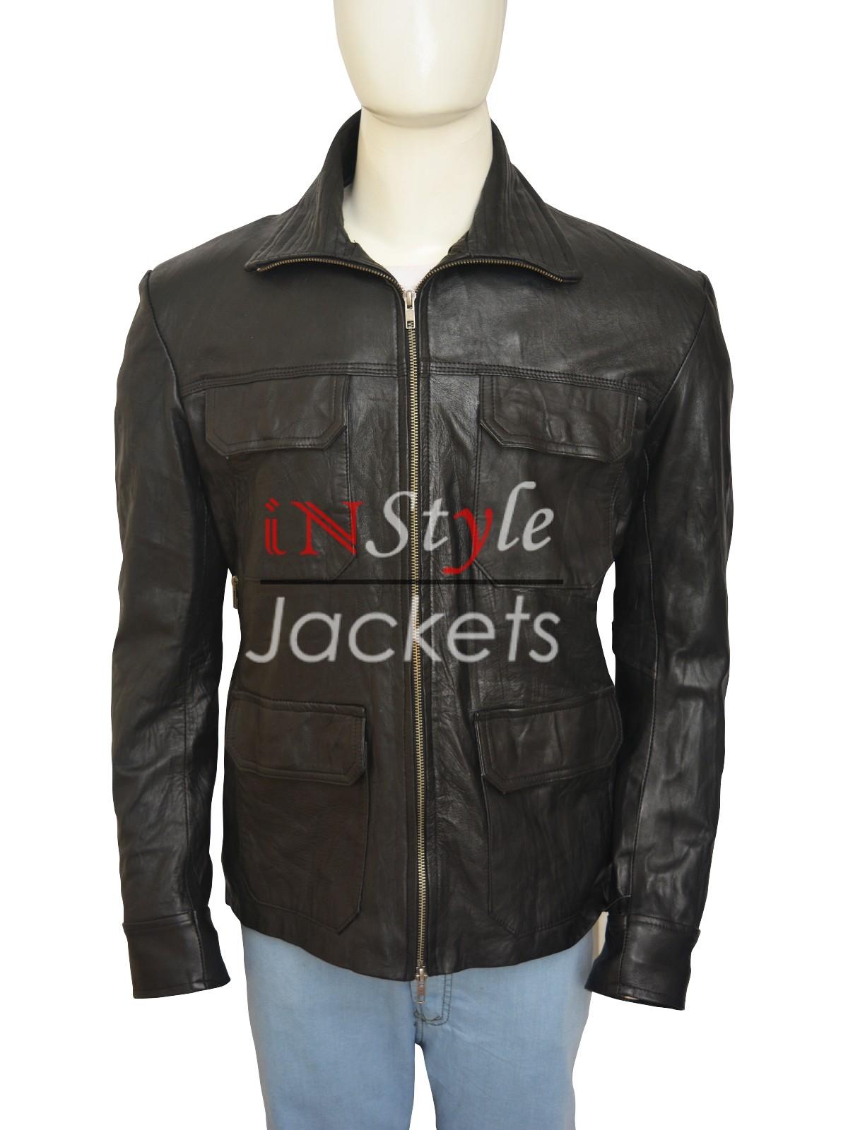 Jesse Pinkman Breaking Bad Black Jacket
