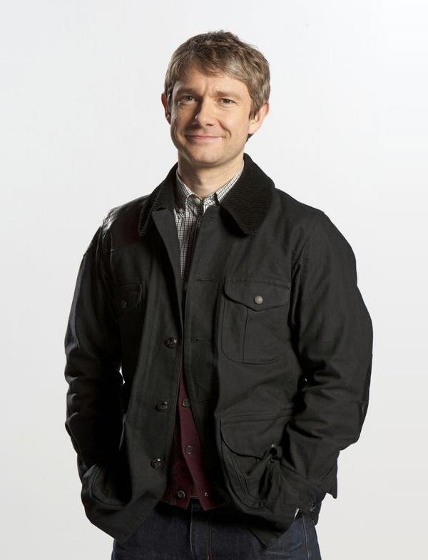 Sherlock Holmes Dr. Watson Black Jacket
